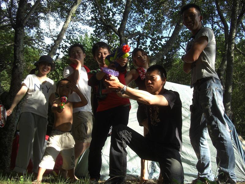 2010年8月 DUO☆キャンプ!