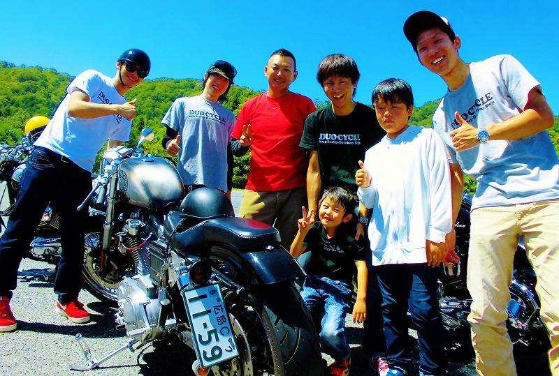 2015年7月 DUO8周年☆ツーリング!