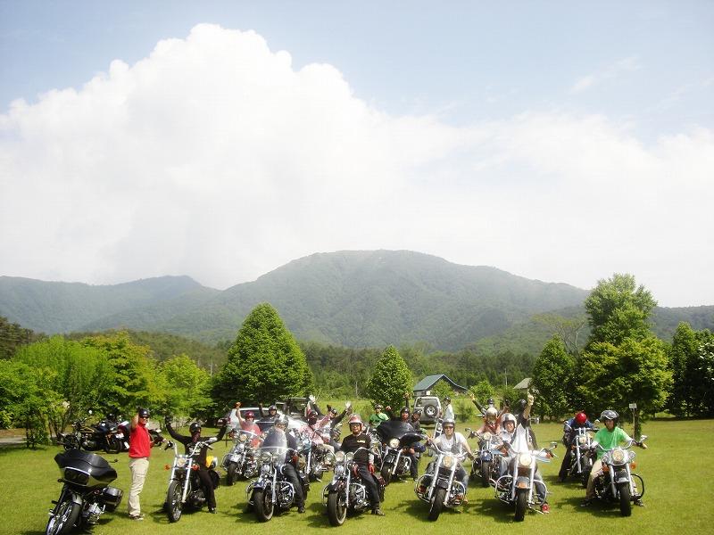 2012年6月 蒜山合同キャンプツーリング!