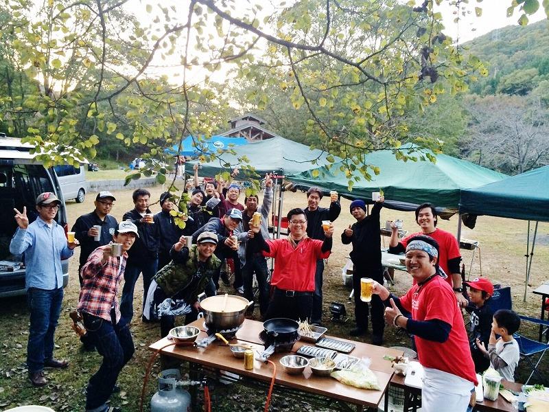 2015年10月 バンカラアニバーサリーキャンプ!