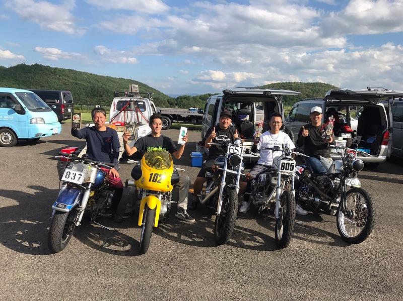 2017年9月 VDA DRAG RACE!福島スカイパーク
