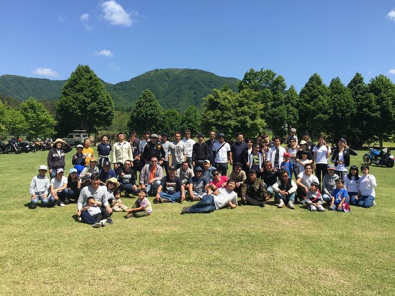2017年6月 蒜山合同キャンプツーリング!